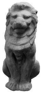 Large Stone Lion.