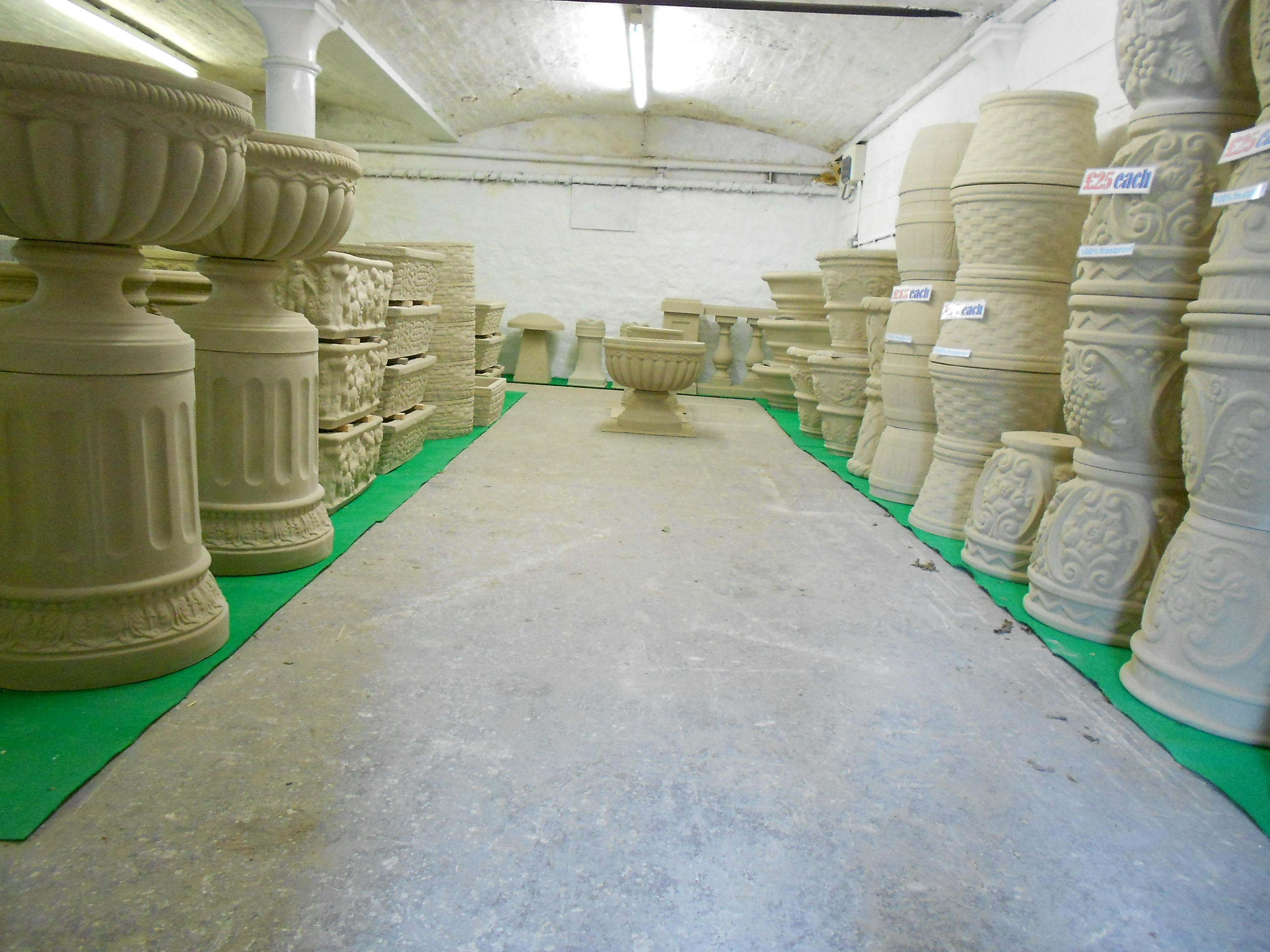 ... Plinths, And Pedestals, Sundials And Of Course, Classic Dry Cast Stone  Balustrade.