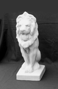 Small Stone Lion.