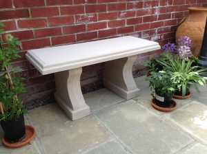 Stone Seat Bench.